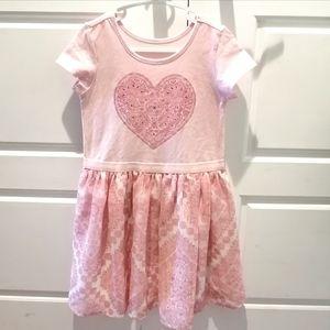 3/$40- Children's Place Pink Dress - Size 5
